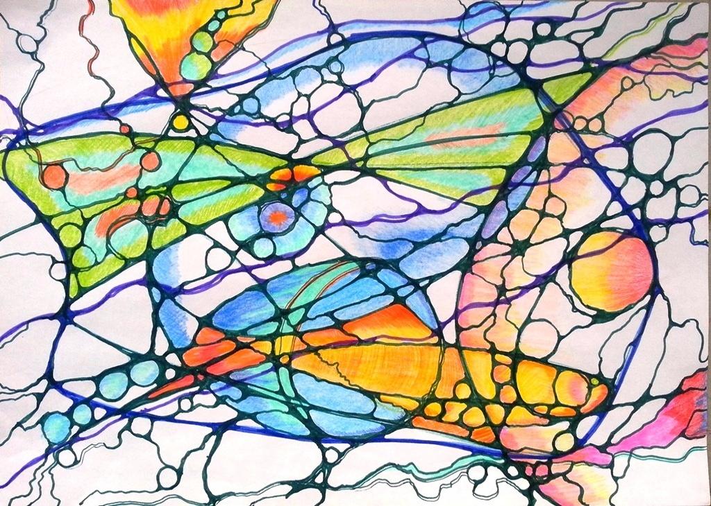 Нейрографика в Переделкино